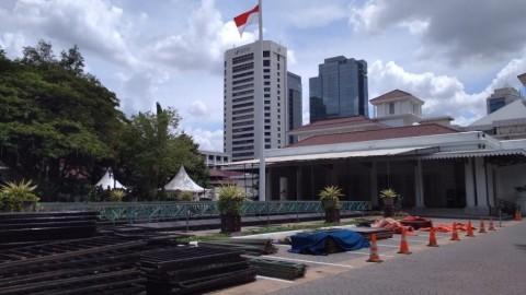 Kuliner RTH Muara Karang Diduga <i>Dibekingi</i> 'Orang Kuat'