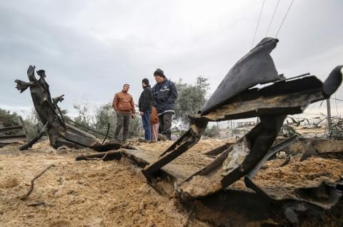 Balas Balon Peledak, Israel Gempur Hamas di Gaza
