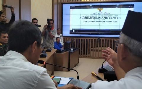 Sumbar <i>Command Center</i> Pantau Pilkada 2020