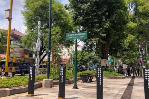 Revitalisasi Trotoar Sudirman Yogyakarta Rampung Oktober