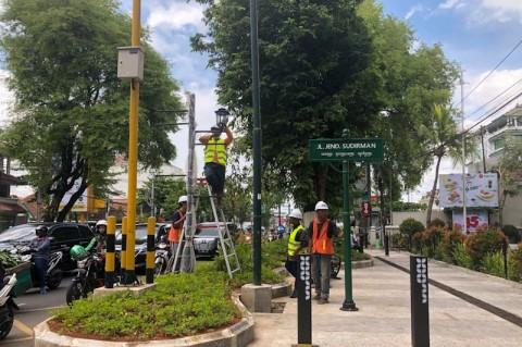 Trotoar Jalan Sudirman Yogyakarta Bebas PKL