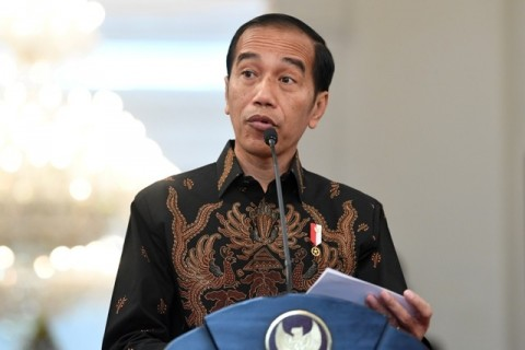Jokowi Sebut Virus Korona Bakal Tekan Ekonomi Indonesia