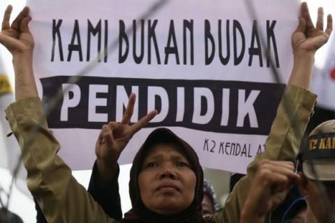 IGI:  Perjuangan untuk Guru Honorer Terkesan Dipolitisasi