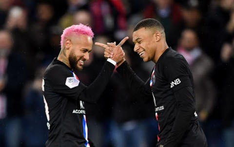 Neymar Percaya Mbappe jadi Pemain Terbaik Dunia