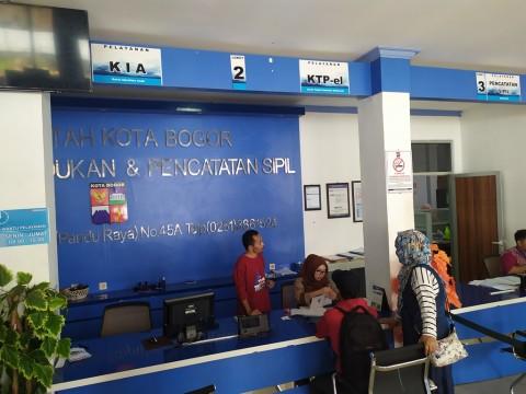 Disdukcapil Kota Bogor Kebut Pencetakan 52.120 Keping KTP-el