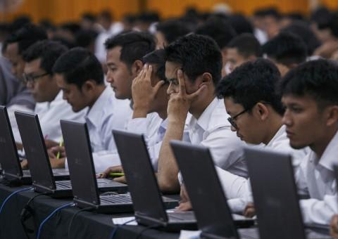 54.600 Orang Bersaing di Seleksi CPNS Jatim