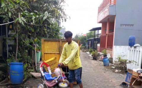 Banjir di Tangerang Berangsur Surut