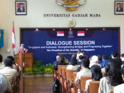Presiden Singapura Buka Peluang Kerja Sama Pendidikan