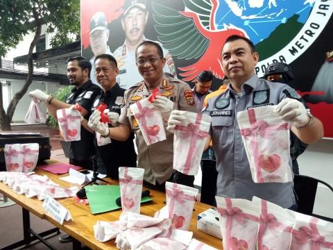 Polisi Gagalkan Pengedaran Narkoba Rp19,2 Miliar