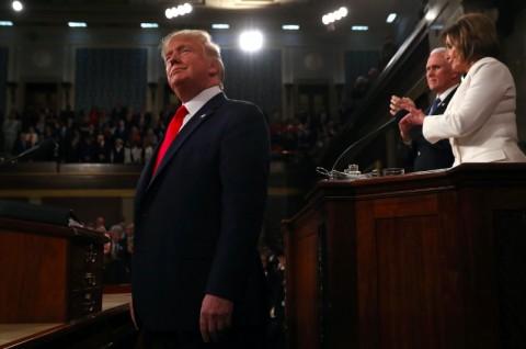 Pengadilan Pemakzulan Perlihatkan Cengkeraman Trump di Partai Republik