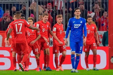 Bayern Muenchen Menangkan Drama 7 Gol Lawan Hoffenheim