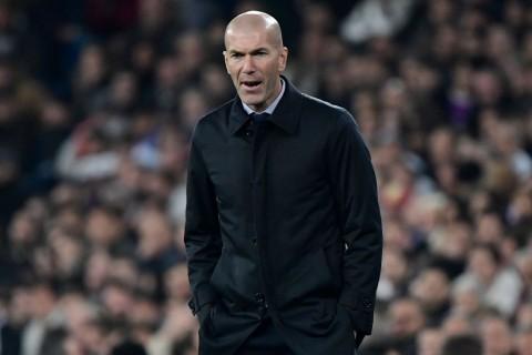 Zidane Minta Madrid Lupakan Kegagalan di Copa del Rey