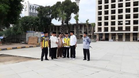 Revitalisasi Masjid Istiqlal Ditargetkan Selesai sebelum Ramadan