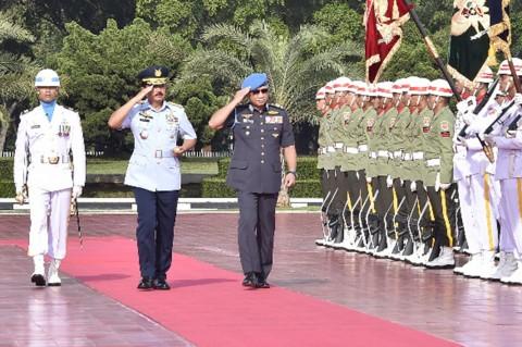 Hadi Tjahjanto Terima Kunjungan Kehormatan Panglima Tentara Malaysia