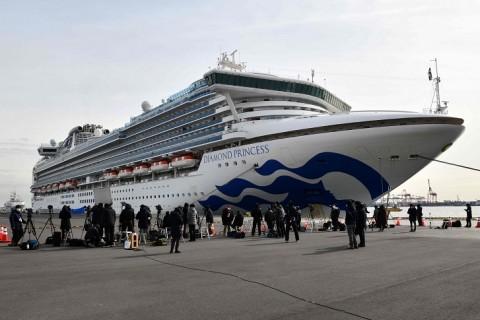 61 Penumpang Kapal Pesiar Jepang Positif Virus Korona