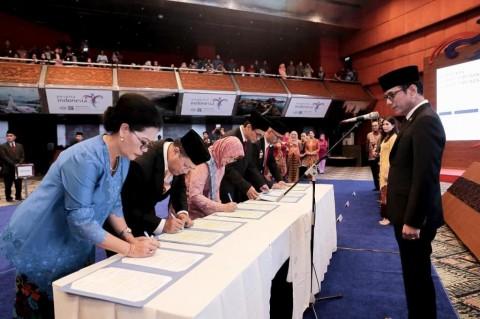 Wishnutama Harapkan Orientasi Hasil Kerja pada Pejabat Baru Kemenparekraf