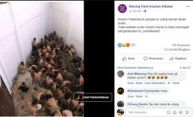 [Cek Fakta] Foto Penampakan Muslim Palestina Disiksa di Penjara Bawah Tanah Israel? Ini Faktanya