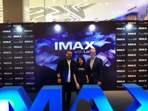 Cinema XXI Hadirkan Teknologi IMAX with Laser Pertama di Indonesia