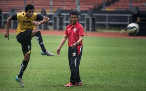 Jafri Sastra Kembali Latih Mitra Kukar