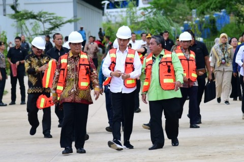 Jokowi Ingin TPA Banjarbakula Jadi Contoh