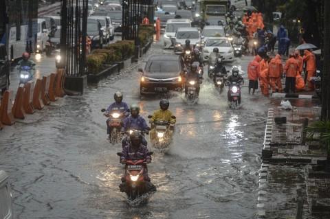 Sejumah Ruas Jalan Jakarta Terendam Banjir