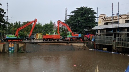 Pintu Air Manggarai Siaga 3 Sejumlah Wilayah Terancam Banjir