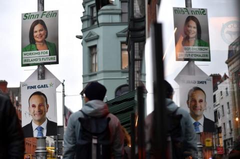 Pertarungan Tiga Partai dalam Pemilu Irlandia Dimulai