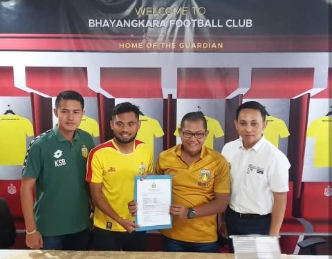 Saddil Ramdani Resmi Gabung Bhayangkara FC