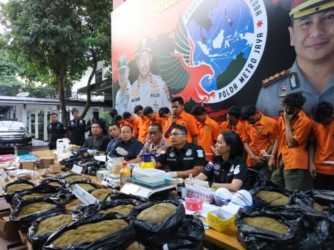 Polisi Telusuri Konsumen Tembakau Gorila di Medsos
