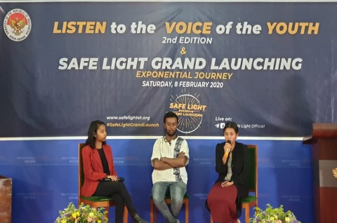 Tiga Tokoh Pemuda Ethiopia Berbicara Tentang Indonesia