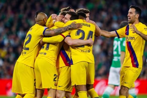 Drama Lima Gol, Barcelona Bungkam Real Betis