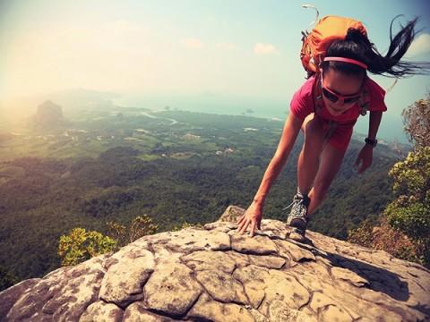 Pendaki dari Padang Jatuh di Gunung Marapi