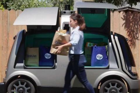 AS Izinkan Mobil Otonom Nuro R2 Uji Coba di Jalan Umum