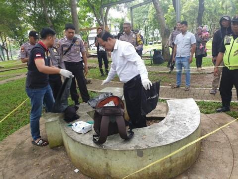 Jasad Bayi Ditemukan di Taman Menteng Bintaro