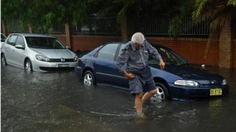 Diguyur Hujan Deras, Sydney Terancam Banjir Bandang