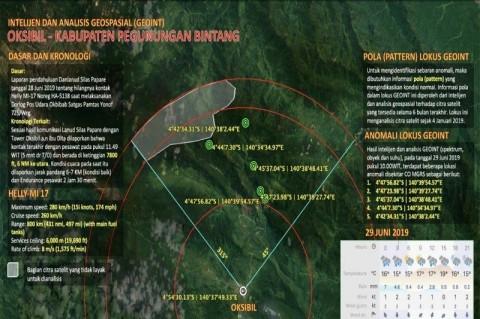 Helikopter MI-17 Ditemukan di Tebing Pegunungan Mandala