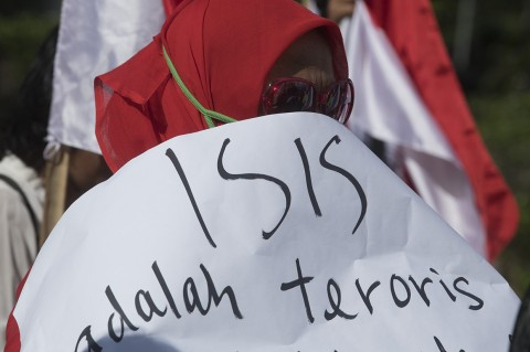 Aksi Tolak Pemulangan WNI Eks ISIS
