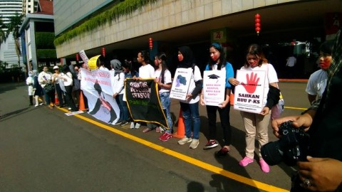 'Gerak Perempuan' Desak Kampus Bebas Kekerasan Seksual