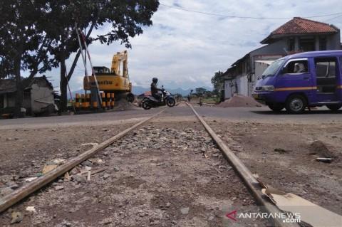 Reaktivasi Jalur Kereta Api di Garut Hampir Rampung