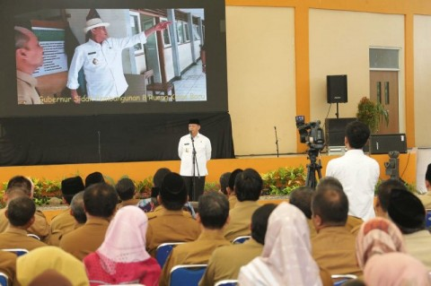 Kepsek se-Banten Diingatkan Agar Tidak Korupsi