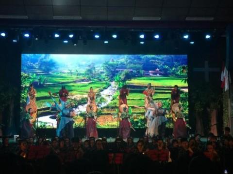 Ratusan Siswa 'Usir Penjajah' di Jakarta Utara