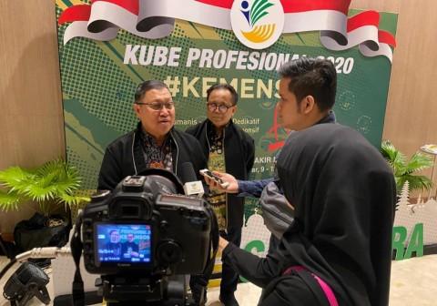 Dirjen PFM Dorong Kerja Sama KUBE dan e-Warong dalam Menyalurkan Pangan