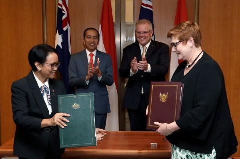 Indonesia dan Australia Siapkan Implementasi IA-CEPA