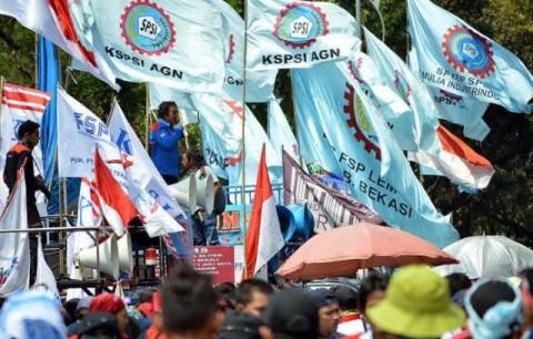 KSPSI Jamin Aksi Tolak <i>Omnibus Law</i> Berlangsung Damai