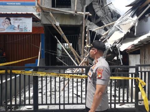 Bangunan Roboh di Jaktim Dibangun Bertahap