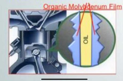 Molybdenum, Trik Ecstar Lindungi Jeroan Mesin