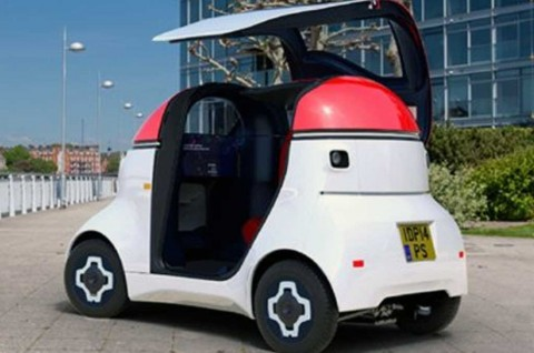 Intip Mobil Listrik Otonom Unik Karya Gordon Murray