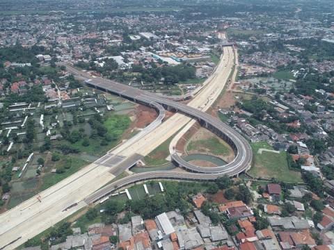Pembangunan Proyek Jalan Tol Serpong-Cinere Mencapai 81 Persen