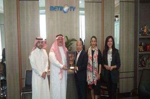 Kunjungi Media Group, Dubes Saudi Bicara Kuota Haji