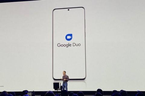 Google Duo Terintegrasi di Samsung Galaxy S20